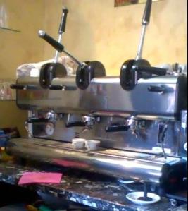 fuoriuscita del caffè