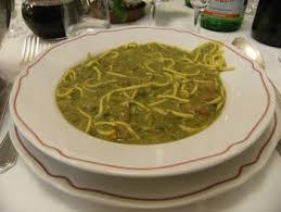 minestrone e pasta